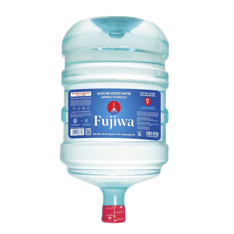 bình nước ion kiềm Fujiwa 19L úp nóng lạnh