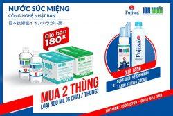combo nước muối súc miệng Fujiwa